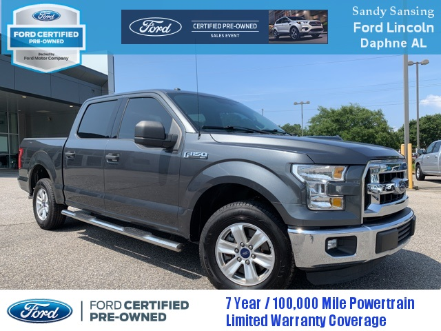 Ford Certified Pre Owned >> Certified Pre Owned 2016 Ford F 150 Xlt Rwd 4d Supercrew