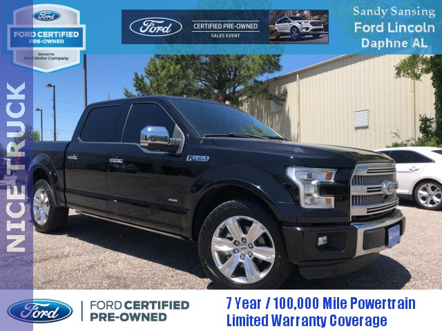 Certified Pre-Owned 2016 Ford F-150 Platinum