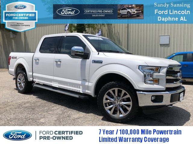 Ford Certified Pre Owned >> Certified Pre Owned 2015 Ford F 150 Lariat 4wd