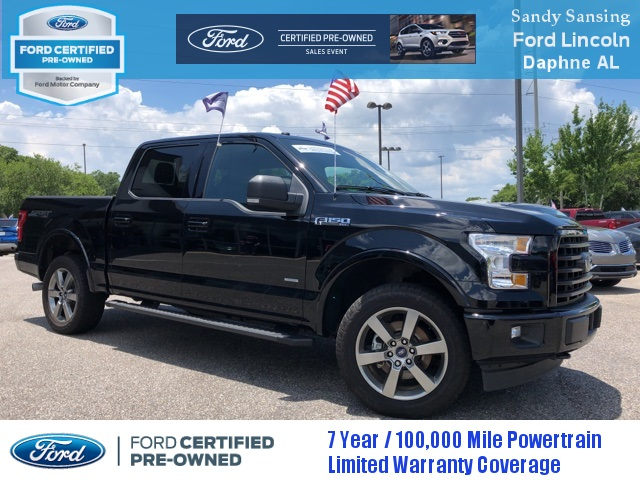 Ford Certified Pre Owned >> Certified Pre Owned 2017 Ford F 150 Xlt 4wd
