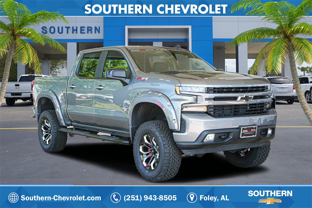 New 2019 Chevrolet Silverado 1500 RST 4D Crew Cab in