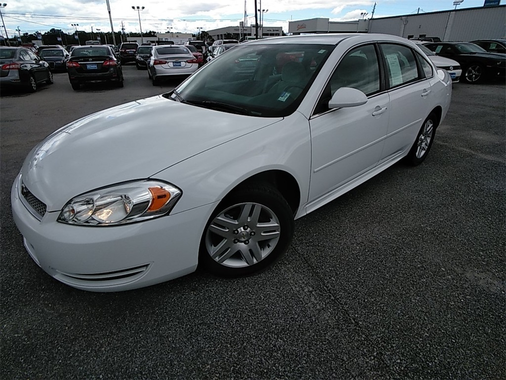 Pre Owned 2016 Chevrolet Impala Limited Lt